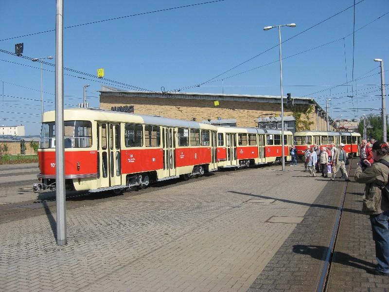 Bericht Und Bilder Der Clubfahrt Zur Stra Enbahn In Halle